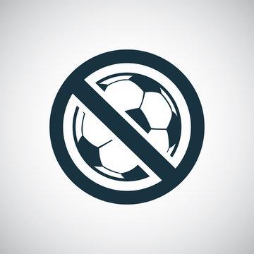 ball forbidden icon