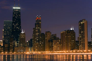 Fototapete - Downtown Chicago