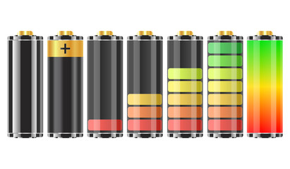 Isolated 3D Batteries