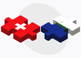 Switzerland and Navassa Island Flags
