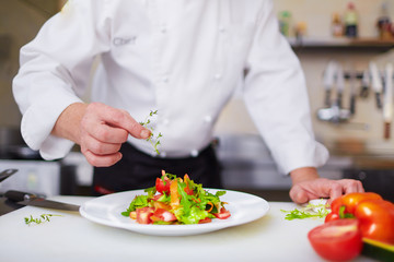 Salad from chef
