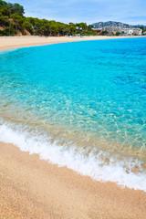 Platja Fenals Beach in Lloret de Mar Costa Brava
