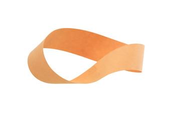 Mobius Strip On White