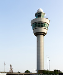 Flight control tower for air traffic control