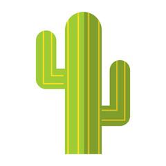 Cactus flat symbol