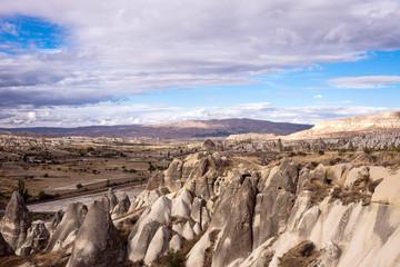 Panoramic view of Cappadocia, Turkey