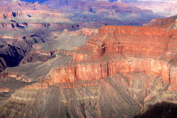 Deurstickers Baksteen View of Grand Canyon in the state of Arizona, United States