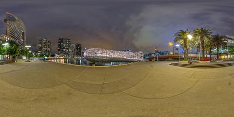 Melbourne Webb Bridge @ 360°