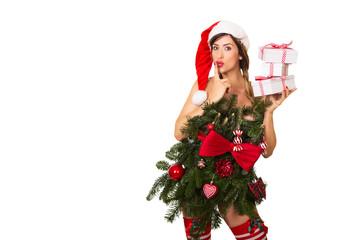 Weihnachtsfrau sexy