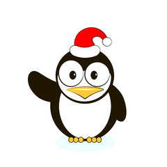 Vector of cute penguin
