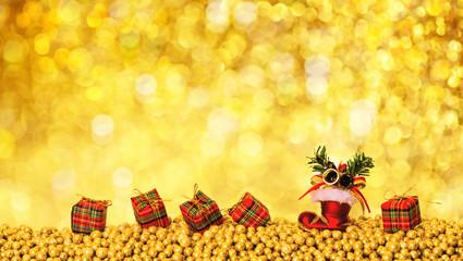 Weihnachtskarte Nikolaus Karte
