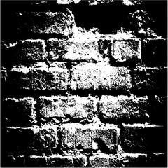 Black and white bricks