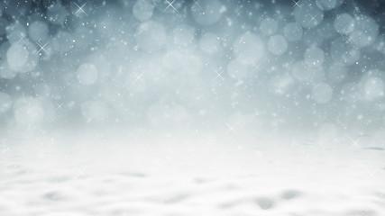 Hintergrund - Winter Wunderland