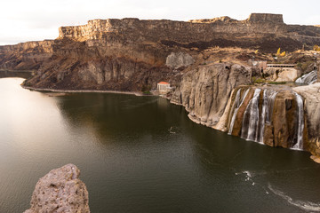 Shoshone Falls Snake River Idaho Canyon Buttes United States