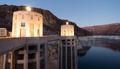 Lake Meade The Colorado River Hoover Dam Neveda Arizona