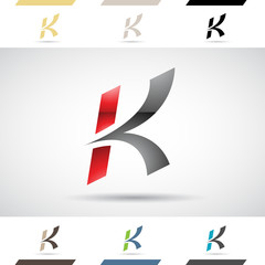 Logo Shapes and Icons of Letter K