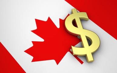 Canada Economy Concept