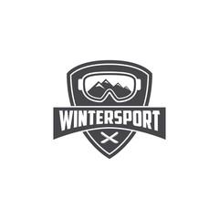 Winter Sport Logo Template
