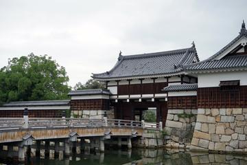 広島城 御門橋、表御門