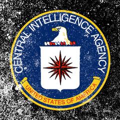 CIA Grunge Logo