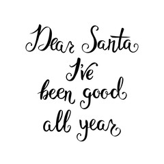 Hand-lettering Christmas quote.