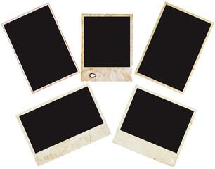 grunge polaroid