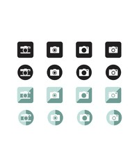 Simple Camera Icon Pack