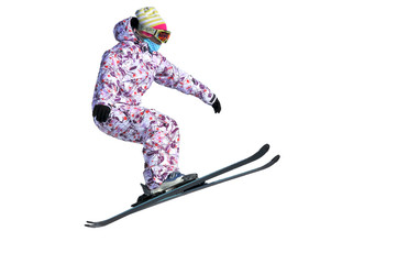 girl ski jumper
