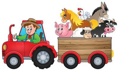 Tractor theme image 2