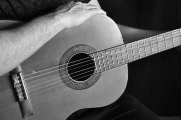 Guitariste acoustique