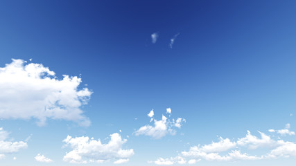 Cloudy blue sky abstract background, 3d illustration, not a phot