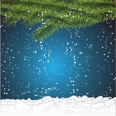 Template  christmas background