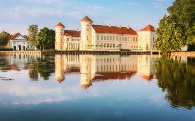Fotorollo Schloss Rheinsberg Castle in Ostprignitz-Ruppin, Germany