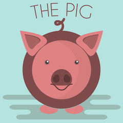 Pig mascot Illustration