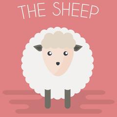 Sheep mascot Illustration