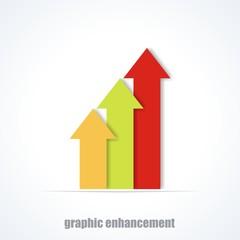 Chart Enhancement Design Illustration