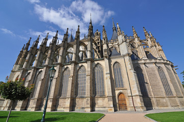 St.Barbara Church in Kutna Hora, Czech republic