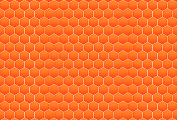 honeycomb pattern background for web design.