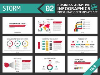 Presentation template set 2