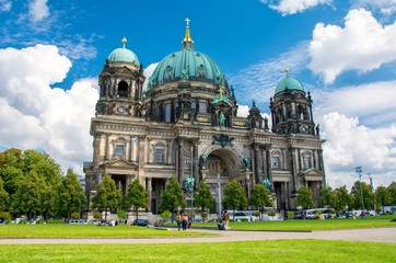 Fototapete - Berlin Cathedral, Berliner Dom, Germany