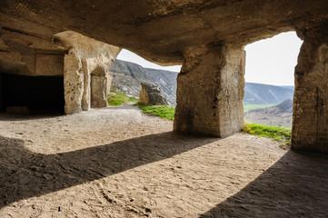 Limestone mines, Old Orhei, Moldova
