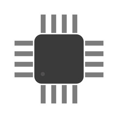 a microcontroller. CPU. Processor.  Vector