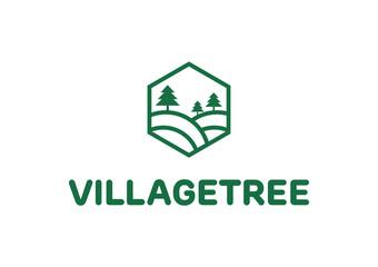 Village Tree - Villa Logo