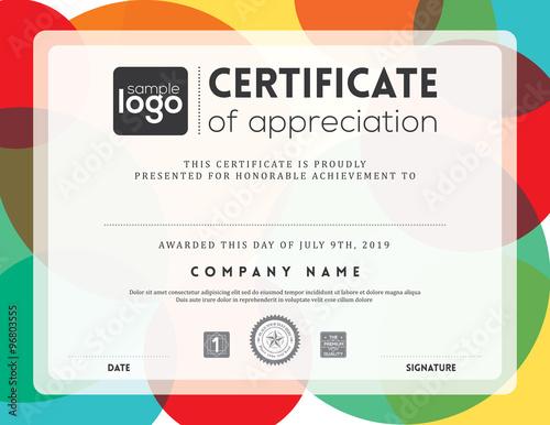 Modern certificate frame design template stock image and royalty modern certificate frame design template yadclub Gallery
