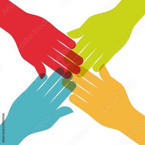 """A Collaborative Design Group: """"collaborative People Design """" Fichier Vectoriel Libre De"""