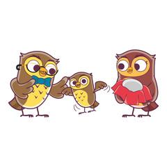 Owl Family Members