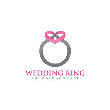Wedding Ring Logo Icon