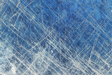 Corroded scratched metal surface background.