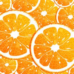 Seamless background with orange