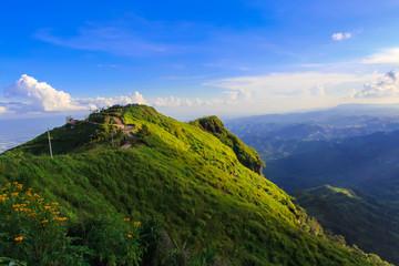 Landscape at Phu Tub Berk in Phetchabun  Province,Thailand.